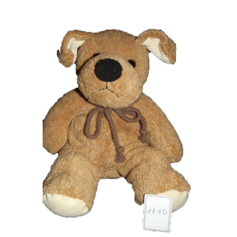 Accueil Gipsy doudou Gipsy Chien Marron lacets Pantin