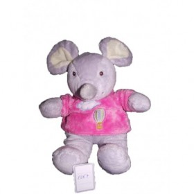 Accueil Gipsy doudou Gipsy Souris Rose montgolfiere nuage Montgolfiere Pantin