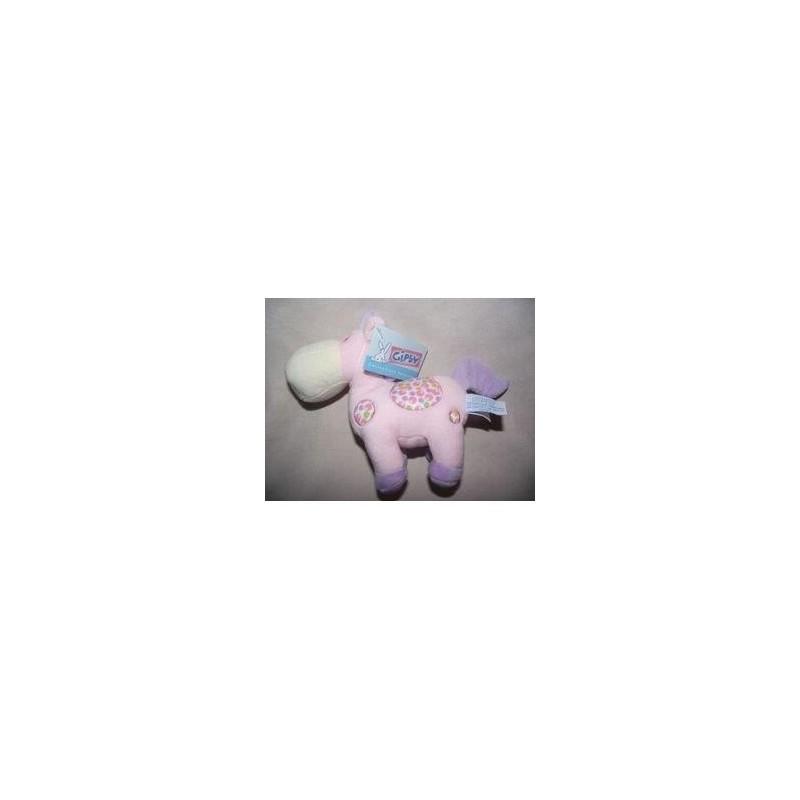 Accueil Gipsy doudou Gipsy Cheval Rose bulle violet vert Pantin