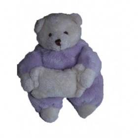 Accueil Gipsy doudou Gipsy Ours Violet  Hochet