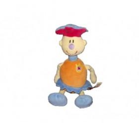 Accueil Happy Horse doudou Happy Horse Lutin Orange Royal t's garcon bleu bonnet rouge Poupee