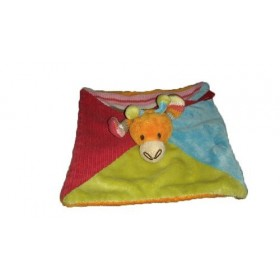 Accueil Happy Horse doudou Happy Horse Girafe Orange Bleu Vert Plat