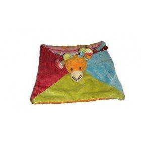 Accueil Happy Horse doudou Happy Horse Girafe Orange Bleu Vert Plat