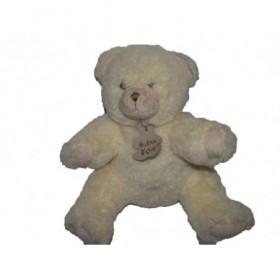 Accueil Histoire d'ours doudou Histoire d'ours Ours Blanc 25cms Pantin