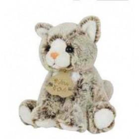 Accueil Histoire d'ours doudou Histoire d'ours Chat Gris HO2233 15CMS Z'animoos Pantin