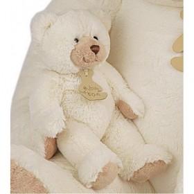 Accueil Histoire d'ours doudou Histoire d'ours Ours Blanc Ho1153 Calin'ours Pantin