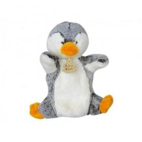 Accueil Histoire d'ours doudou Histoire d'ours Pingouin Gris HO2131 Z'animoos Marionnette