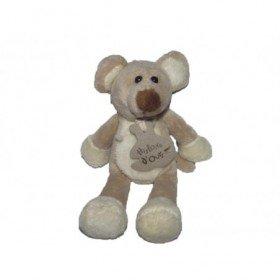 Accueil Histoire d'ours doudou Histoire d'ours Souris Beige HO1943 Mousse Pantin