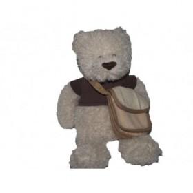 Accueil Histoire d'ours doudou Histoire d'ours Ours Marron HO1973 Sac a Broder Pantin