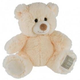 Accueil Histoire d'ours doudou Histoire d'ours Ours Blanc HO2393 nez marron Bel'ours Pantin