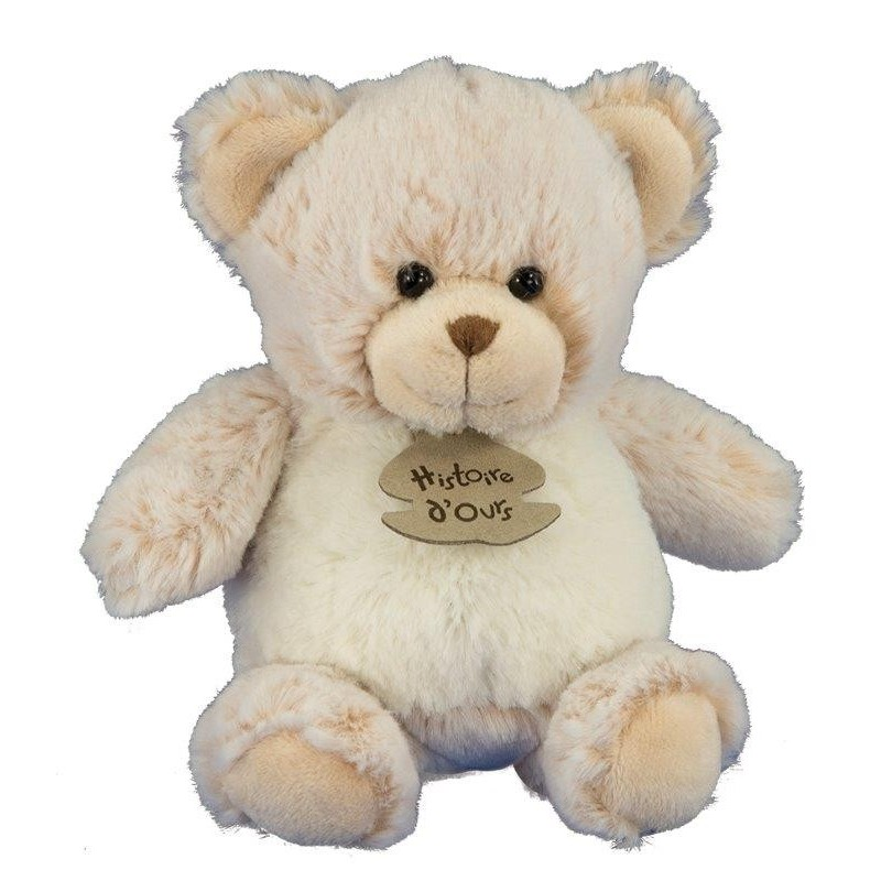 Accueil Histoire d'ours doudou Histoire d'ours Ours Marron 18cm HO2349 Zanimoos Pantin