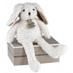 Accueil Histoire d'ours doudou Histoire d'ours Lapin Blanc 35cms HO1424 Chaussette Pantin