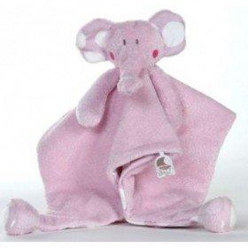 Accueil Dimpel doudou Dimpel Elephant Rose Pois Blanc Bolli Plat
