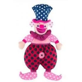 Accueil Histoire d'ours doudou Histoire d'ours Clown Rose Drole de Pepita HO2380 Drole de Clown Pantin