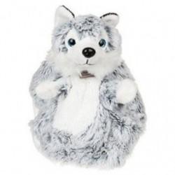 Accueil Histoire d'ours doudou Histoire d'ours Chien Gris HO2490 Husky Plat