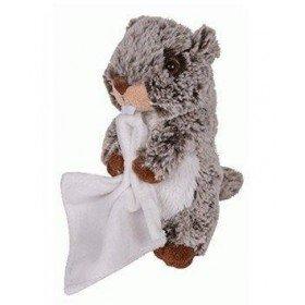 Accueil Histoire d'ours doudou Histoire d'ours Marmotte Marron avec doudou 16cms HO2481 Marmotte Pantin