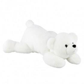 Accueil Histoire d'ours doudou Histoire d'ours Ours Blanc Polaire douceur 30cms HO2317 Pantin
