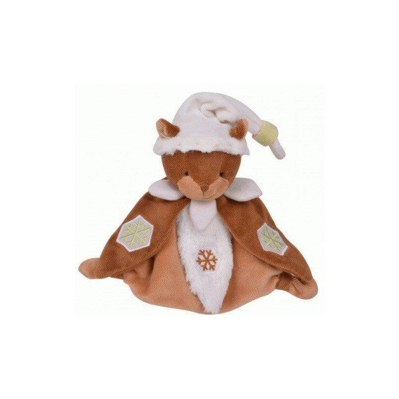 doudou Histoire d'ours Marmotte Marron luminescent HO2500 Marmotte plat