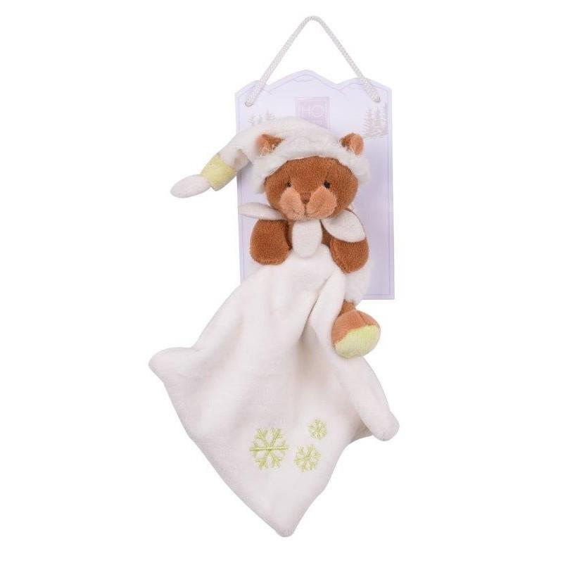 Accueil Histoire d'ours doudou Histoire d'ours Marmotte Marron bonnet blanc 15cms HO2501 Marmotte Pantin