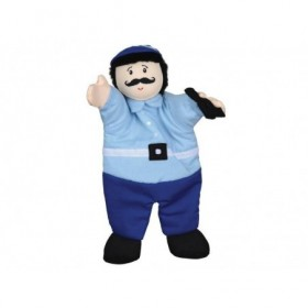 Accueil Histoire d'ours doudou Histoire d'ours Personnage Bleu gendarme 31cms HO2244 Marionnette