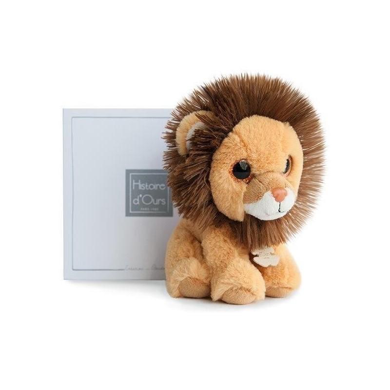 Accueil Histoire d'ours doudou Histoire d'ours Lion Jaune Savane 15cms HO2661 Peps Pantin