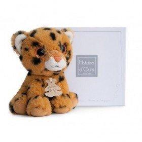 Accueil Histoire d'ours doudou Histoire d'ours Tigre Jaune Savane leopard 15cms  Peps Pantin