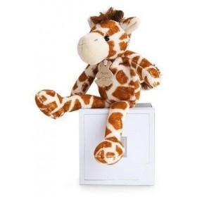 Accueil Histoire d'ours doudou Histoire d'ours Girafe Marron 26cms HO2648 Yoopy Savane Pantin