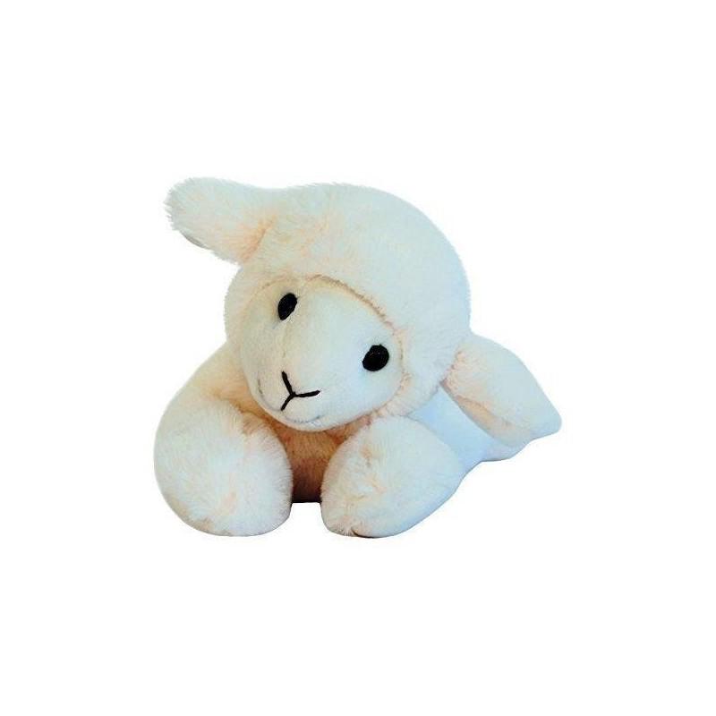 Accueil Histoire d'ours doudou Histoire d'ours Mouton Blanc allonge PM 25cms HO2560 La Ferme Pantin