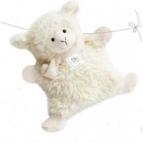 Accueil Histoire d'ours doudou Histoire d'ours Mouton Blanc 23cms blanc OH1037 Oh studio Marionnette