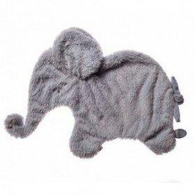 Accueil Dimpel doudou Dimpel Elephant Gris Oscar Plat