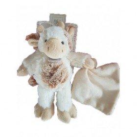 doudou Histoire d/'ours Vache Marron HO2576 Boulidoux Pantin