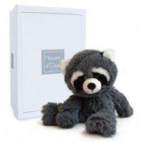 Accueil Histoire d'ours doudou Histoire d'ours Raton laveur Gris 28cms HO2747 Choubis Pantin