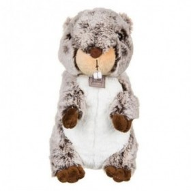 Accueil Histoire d'ours doudou Histoire d'ours Marmotte Marron 25cms HO2482 Marmotte Pantin