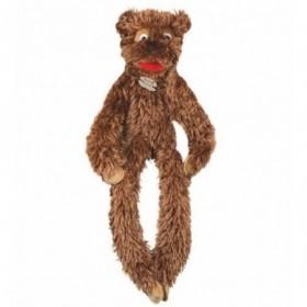 Accueil Histoire d'ours doudou Histoire d'ours Ours Marron Bras et Jambes Scratch 78cms HO2261 Piloo Piloo Marionnette