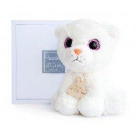 Accueil Histoire d'ours doudou Histoire d'ours Chat Blanc HO2660 Peps Prairie Pantin