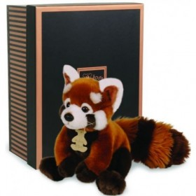 Accueil Histoire d'ours doudou Histoire d'ours Panda Roux 20cms HO2217 Les Authentiques Pantin