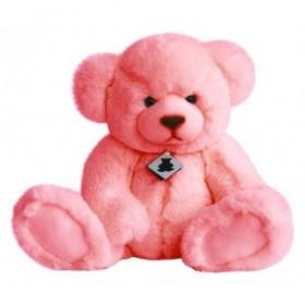 Accueil Histoire d'ours doudou Histoire d'ours Ours Rose Blush 33cms Signature Pantin
