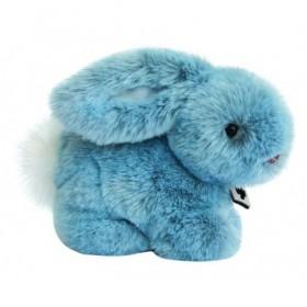 Accueil Histoire d'ours doudou Histoire d'ours Lapin Bleu 22cms Signature Pantin
