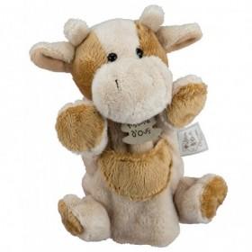 Accueil Histoire d'ours doudou Histoire d'ours Vache Marron HO1168 Marionnette
