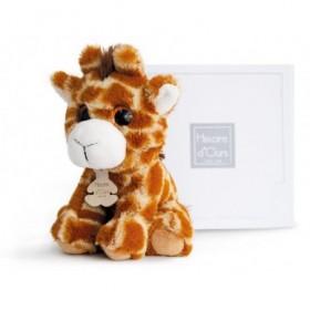 Accueil Histoire d'ours doudou Histoire d'ours Girafe Marron savane HO2661 PEPS Pantin