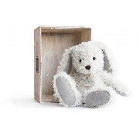 Accueil Histoire d'ours doudou Histoire d'ours Lapin Gris HO2612 Lapin Chine Pantin
