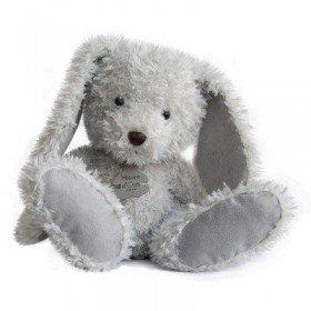 Accueil Histoire d'ours doudou Histoire d'ours Lapin Gris HO2616 Lapin Chine Pantin