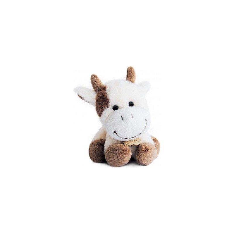 Accueil Histoire d'ours doudou Histoire d'ours Vache Beige 20cms HO2546 La Ferme Pantin