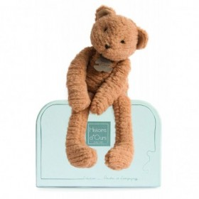 Accueil Histoire d'ours doudou Histoire d'ours Ours Marron 38cms HO2638 Sweety Couture Pantin