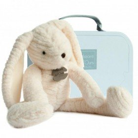 Accueil Histoire d'ours doudou Histoire d'ours Lapin Blanc 38cms HO2636 Sweety Couture Pantin