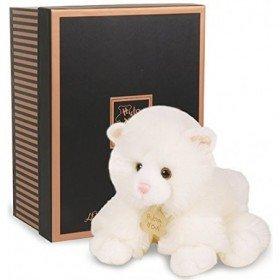 Accueil Histoire d'ours doudou Histoire d'ours Chat Blanc HO2216 26cms Les Authentiques Pantin