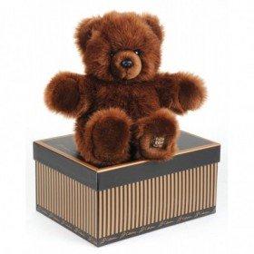 Accueil Histoire d'ours doudou Histoire d'ours Ours Marron 40cms HO2188 Les Authentiques Pantin