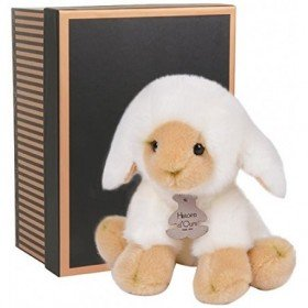 Accueil Histoire d'ours doudou Histoire d'ours Mouton Blanc 25cms HO2343 Les Authentiques Pantin
