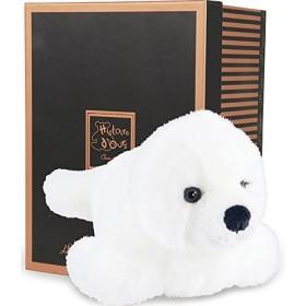 Accueil Histoire d'ours doudou Histoire d'ours Phoque Blanc 25cms HO2301 Les Authentiques Pantin