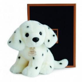 Accueil Histoire d'ours doudou Histoire d'ours Chien Blanc 20cms HO2604 Les Authentiques Pantin
